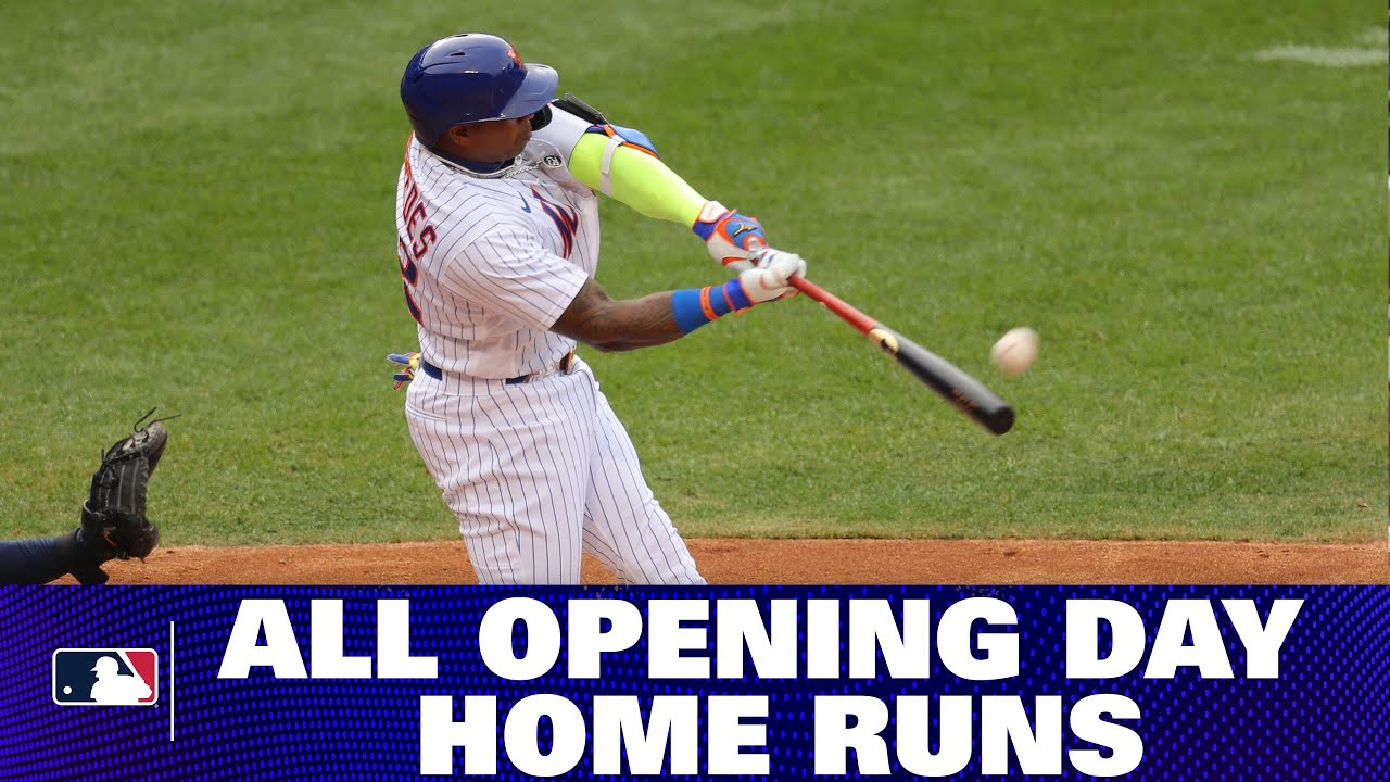All Home Runs from 2020 Opening Day!
