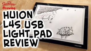 Huion L4S USB LED Light Pad unboxing and review