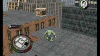The Incredible Hulk Movie Game Walkthrough Part 2 (Wii)
