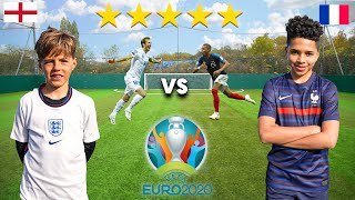 11 Year Old MBAPPE vs 10 Year Old HARRY KANE (UEFA EURO 2020) - Football Competition