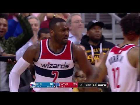 Philadelphia 76ers vs Washington Wizards: October 18, 2017