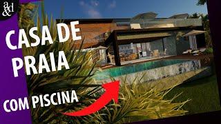 Casa Na Praia - Por Arch & Design STUDIO