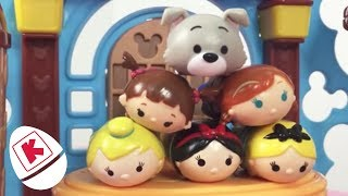 Tsum Tsum GIANT Surprise Egg Unboxing - Princesses In Real Life | WildBrain Kiddyzuzaa