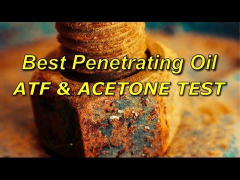 Best Penetrating Oil Test for Rust, Spark Plugs - ATF & ACETONE - Kroil - Bundys Garage