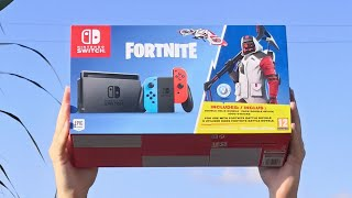 🔥 FORTNITE PACK Nintendo SWITCH 🔥 UNBOXING SKIN DOUBLE HELIX
