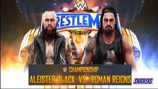 WWE 2k19| Roman Reigns vs Aleister Black | WWE Championship