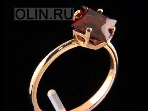 Кольцо из золота с топазом ТК2252Т на RUVAS.COM.UA