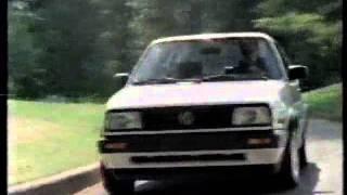 Volkswagen Fahrvergnugen Commercial 1991 (please add an english translation of this. volkswagen fahrvergnugen commercial 1991