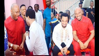 Prophet Odumeje grinding it hard with Nollywood Actor Yul Edochie
