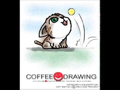 [how to draw Kitten] สอนเด็กวาดรูปการ์ตูน ลูกแมว ตามขั้นตอนง่ายๆ [by coffee-drawing]