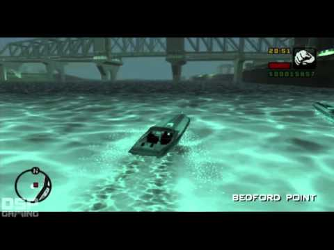 Grand Theft Auto: Liberty City Stories pt30 - The Boat Chase! Unexpected Outcome