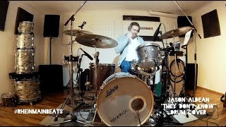 """Jason Aldean """"They Don't Know"""" - Drum Cover"""