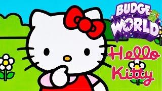 Хеллоу Китти Веселые Игры с Баджерами.Hello Kitty Маникюр и Готовка .Мультики для детей