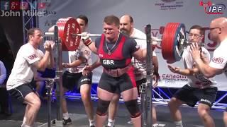 Baruch Sekenofsky - 842.5kg 5th Place 120kg - IPF World Classic Powerlifting Championships 2018