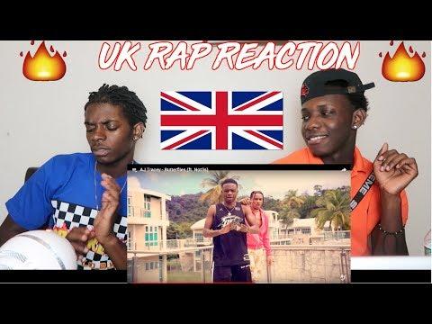 REACTION TO UK RAP ft. Not3s, Aj Tracy, Yxng Bane, Ramz & MORE!