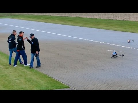 RC Heli 3er Flug / Mike Haucke / Jens Freidank / Henrik Clausen / Bölsdorf 2015 *1080p50fpsHD*