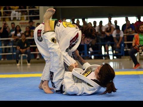 Talita Nogueira (TRETA) x Mackenzie Lynne Dern - Campeonato Brasileiro de Jiu-Jitsu 2014 CBJJ
