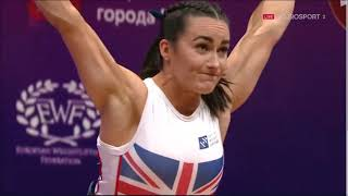 2021 European Weightlifting W 64 kg A
