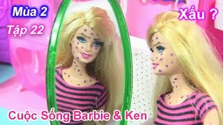 Cuộc Sống Barbie Ken ( Mùa 2 )  Tập 22 - Barbie nổ trái rạ đầy người / Barbie & Ken's Story Video