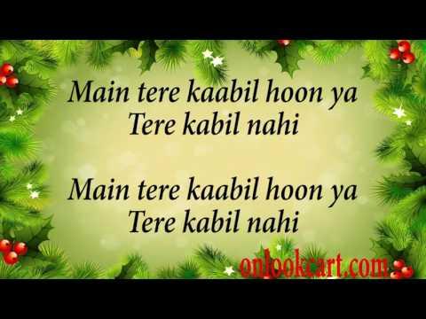 KAABIL HOON LYRICS – Title Song | Jubin...