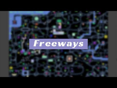 Freeways - Complete Playthrough Timelapse