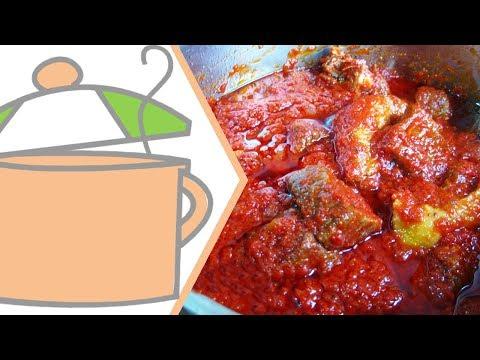 Nigerian Beef & Chicken Stew