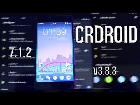 CRDroid 7 1 2 V3 8 3 | REVIEW | Motorola / OnePlus / Samsung / links  atualizados na descrição