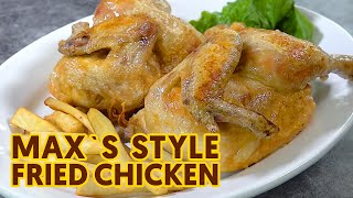 Max Fried Chicken Recipe with Sweet Potato Fries