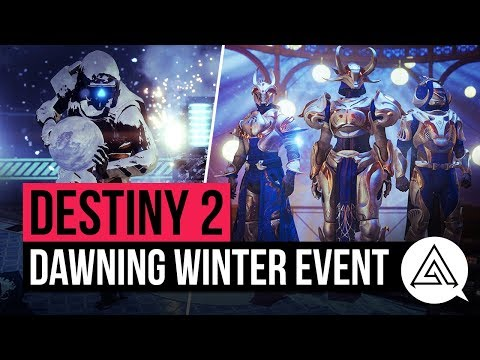 DESTINY 2 | The Dawning Winter Event - New Exotic Items, Armour & Activities!
