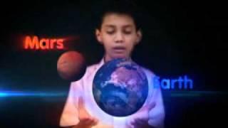 Green Screen Example - Solar System