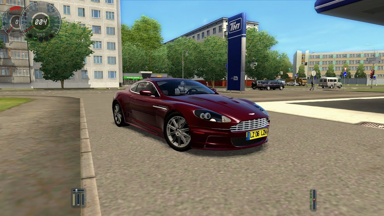 City Car Driving Aston Martin DBS [1080p]   YouTube