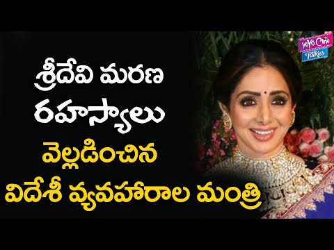 Sridevi Mystery Details Revealed by Ministry of External Affairs of India Govt | YOYO Cine Talkies