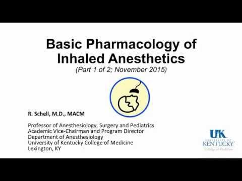 20151109 Inhaled Anesthetics Part 1