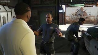 GTA 5 (PS4) - Mission #43 - Deep Inside [Gold Medal]