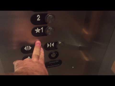 AWESOME OTIS Gen2 Series 5 Traction Elevator @ Mercedes Dealership, Van Nuys, CA