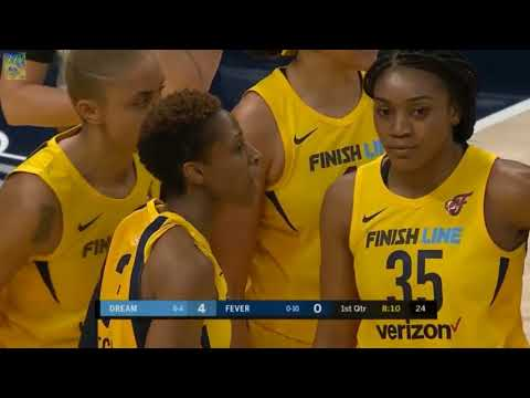 Atlanta Dream Indiana Fever WNBA
