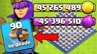 OVER 90 MILLION LOOT SPENT in this EPISODE! TH12 Farm to Max | Clash of Clans