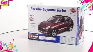 Bburago  Машинка Сборка Porsche Cayenne Turbo 18 25107