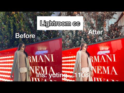 Lightroom Cc✨Before&After❤️Edit照片前後對比!