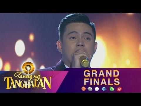 Tawag ng Tanghalan: Anton Antenorcruz | Patuloy Ang Pangarap (Top 6 Performance)
