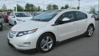 2012 Chevrolet Volt Premium Start up, Walkaround and Vehicle Tour