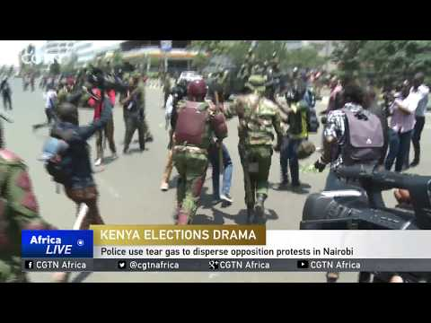 Police use tear gas to disperse opposition protests in Nairobi