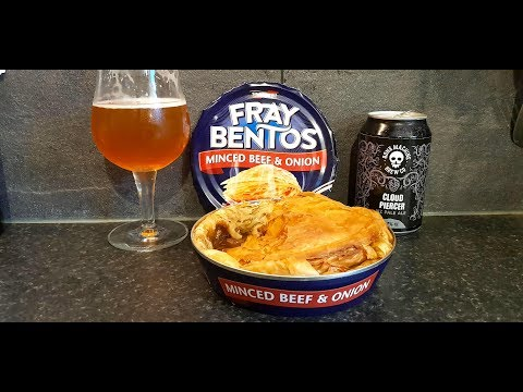 How To Survive In Brexit Britain | Fray Bentos Mince Beef & Onion Pie With A Pint