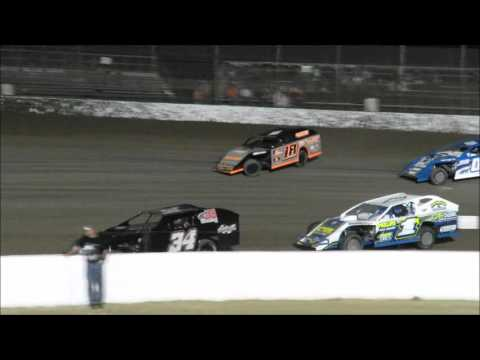 I 55 Raceway 4 16 2016 A Mod Heat Race #2   A mod Feature Dave Armstrong #34