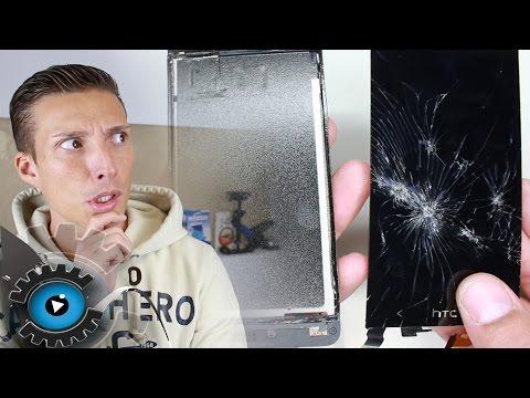 HTC One Mini Glas Display Wechseln Tauschen Reparieren [Deutsch] Disassembly
