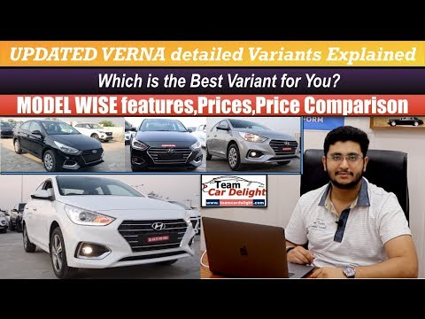 2019 Hyundai Verna Variants Explained - Which Is The Most Value For Money Model?