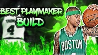 2k17 PLAYER BUILD! PLAYMAKER 86 OVERALL!