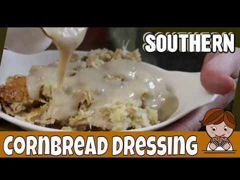 How to make Southern Dressing, Old Fashioned Dressing is not Stuffing