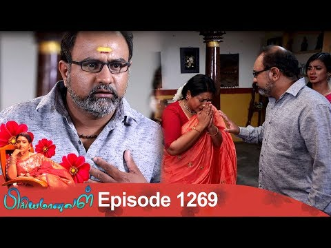 Priyamanaval Episode 1269, 18/03/19