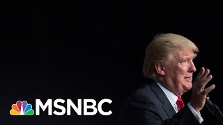 A Question Team Trump Finally Faced About Tax Audit | The Last Word | MSNBC